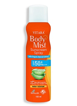 Vitara Body Mist Sunscreen Spray SPF 50+ PA+++